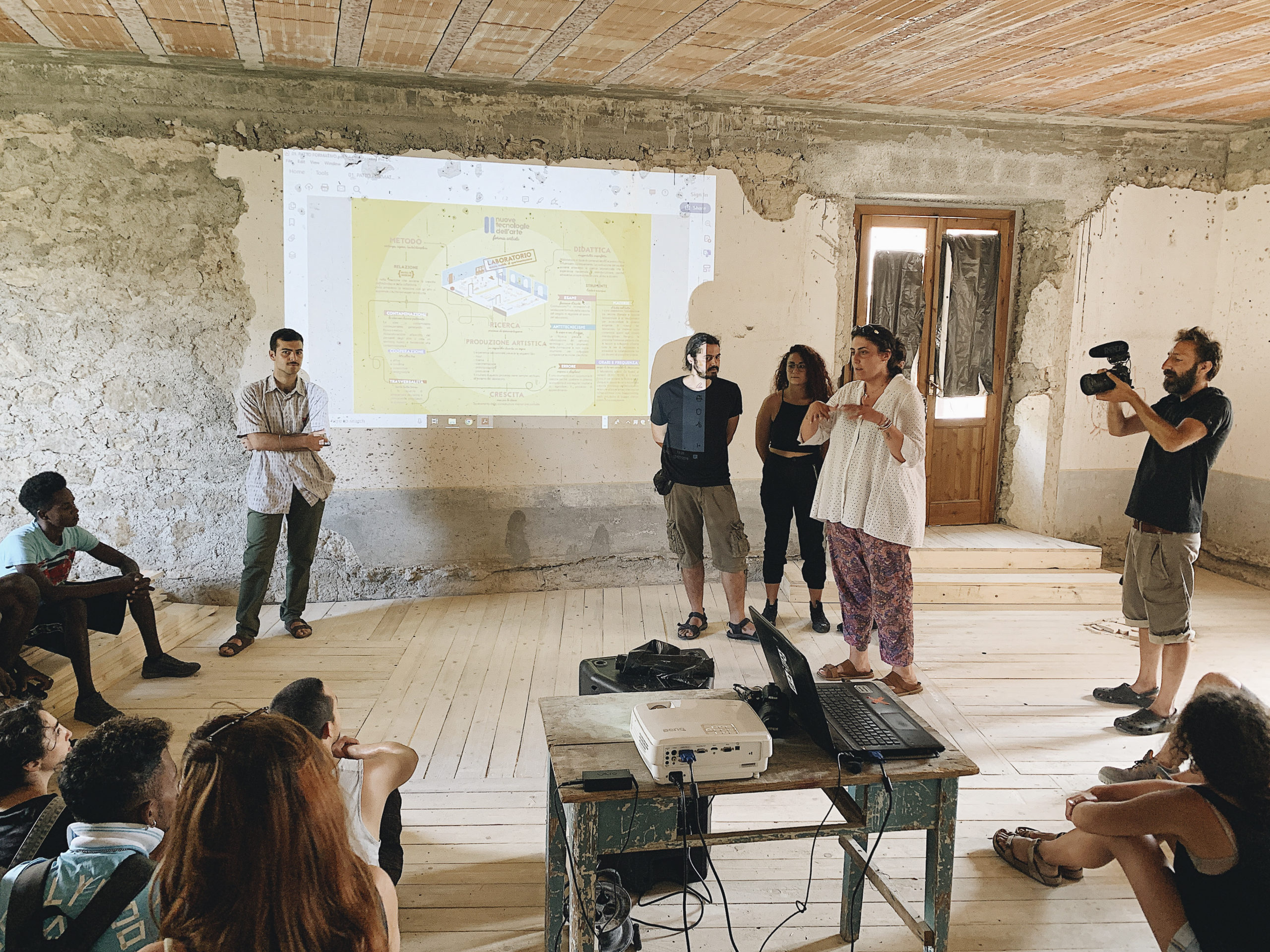 Talk con Accademia delle nuove tecnologie di Napoli