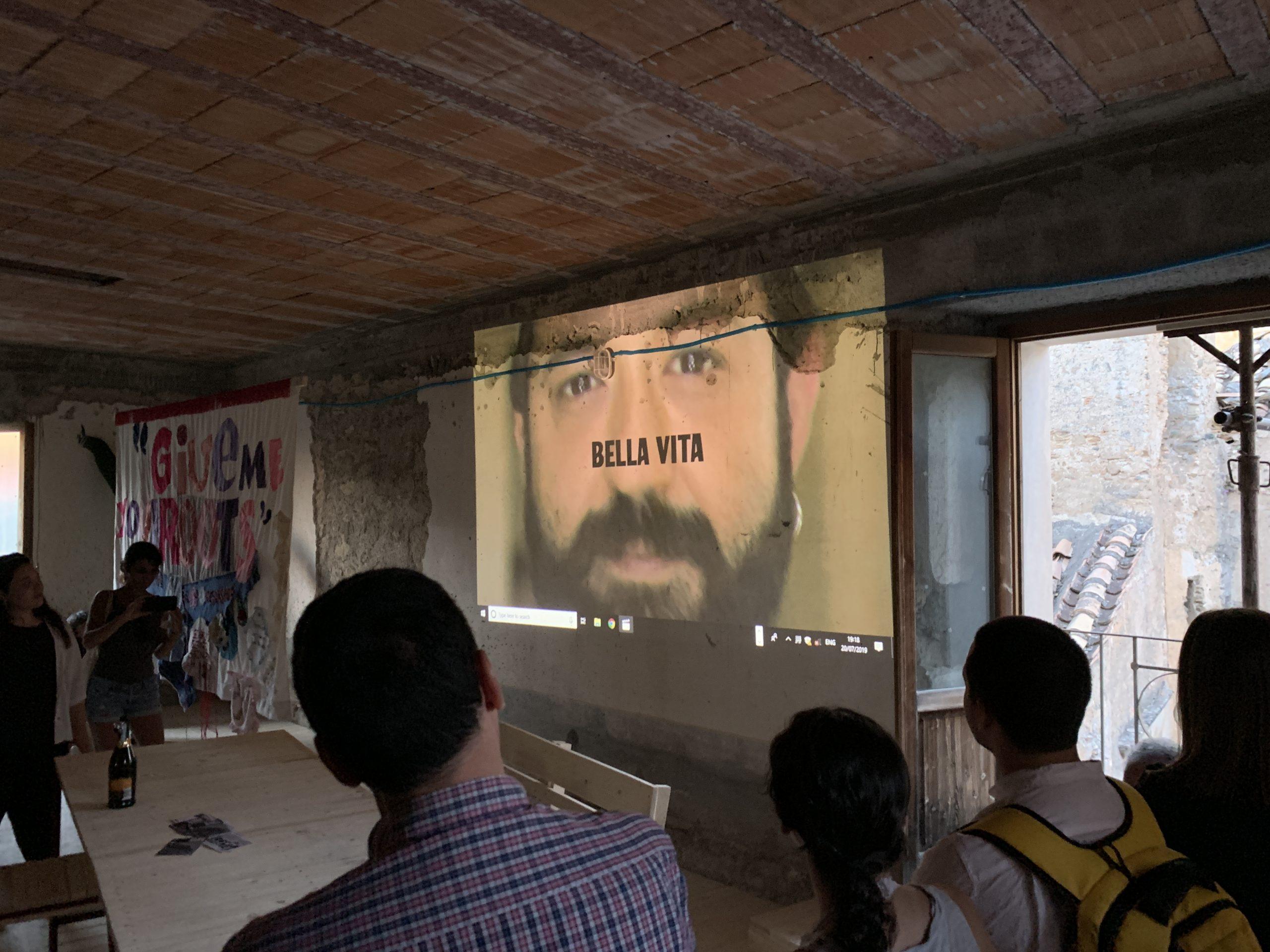 Presentazione del video pensato