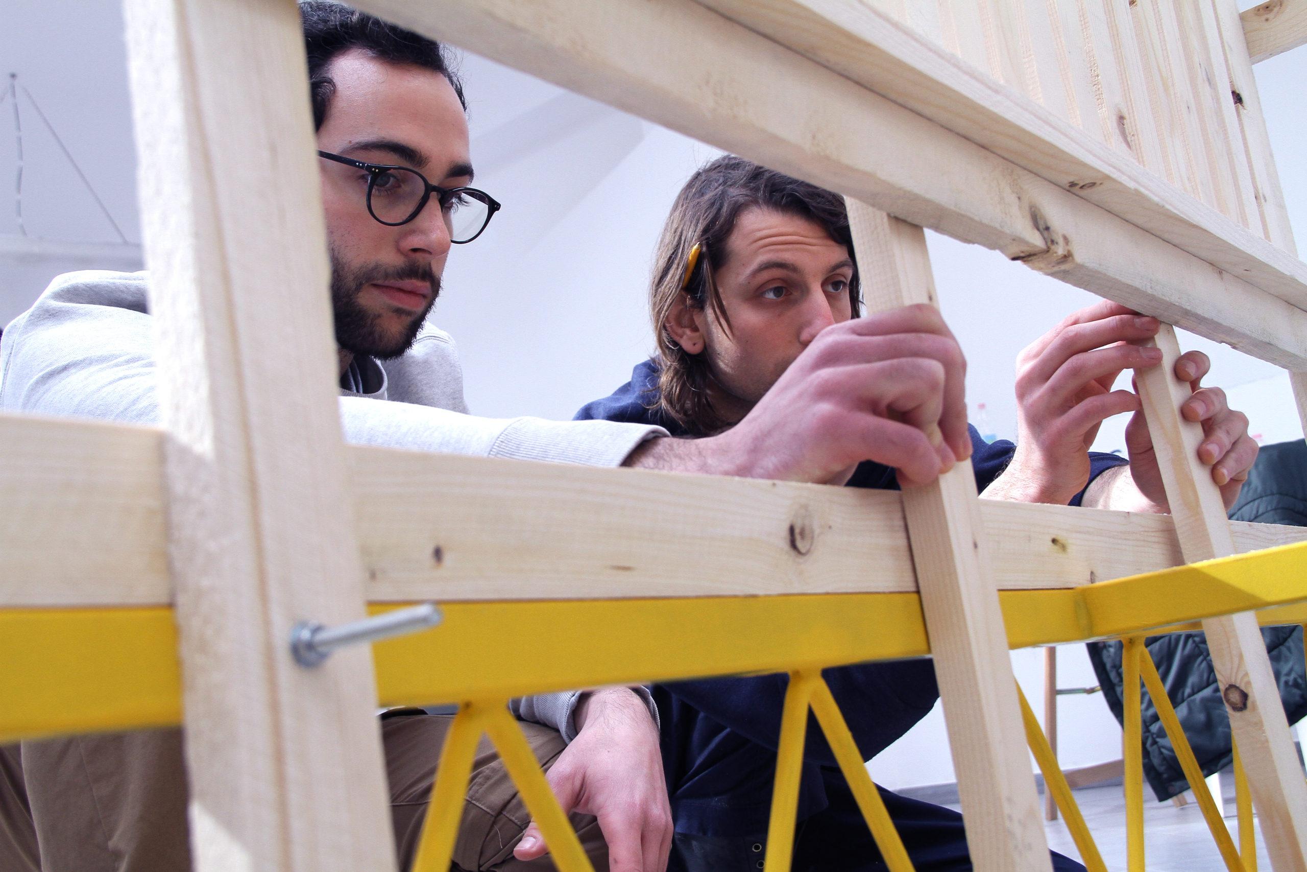 Workshop di autocostruzione con Orizzontale