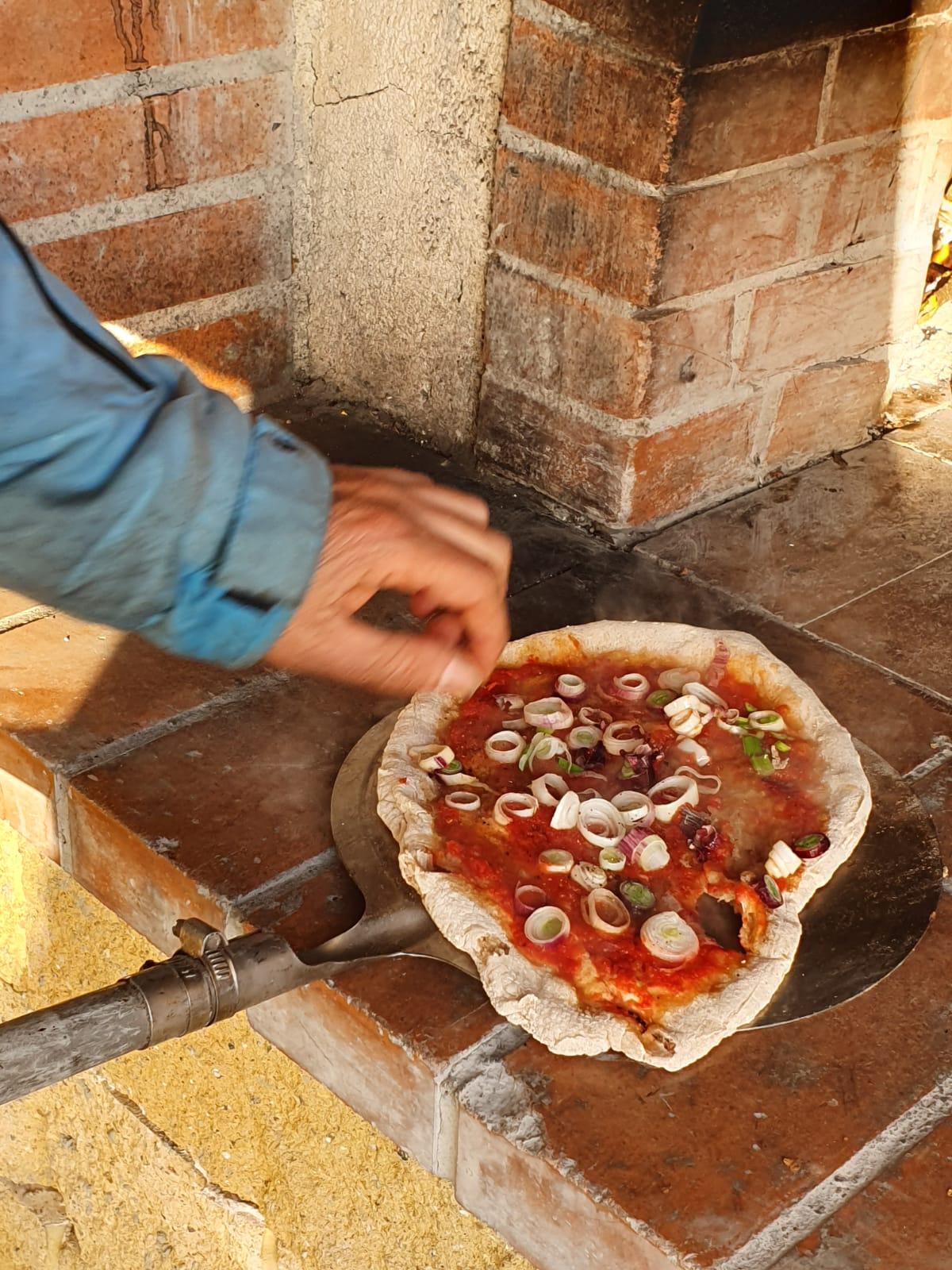 Infornazione della pizza