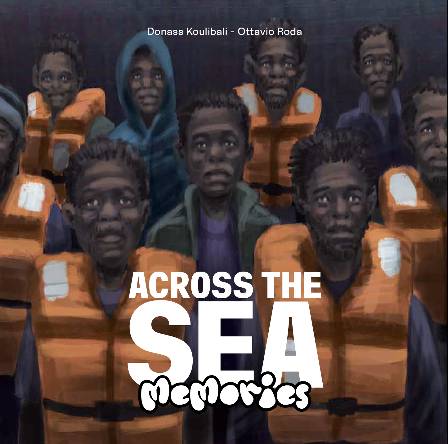 Copertina Across the sea