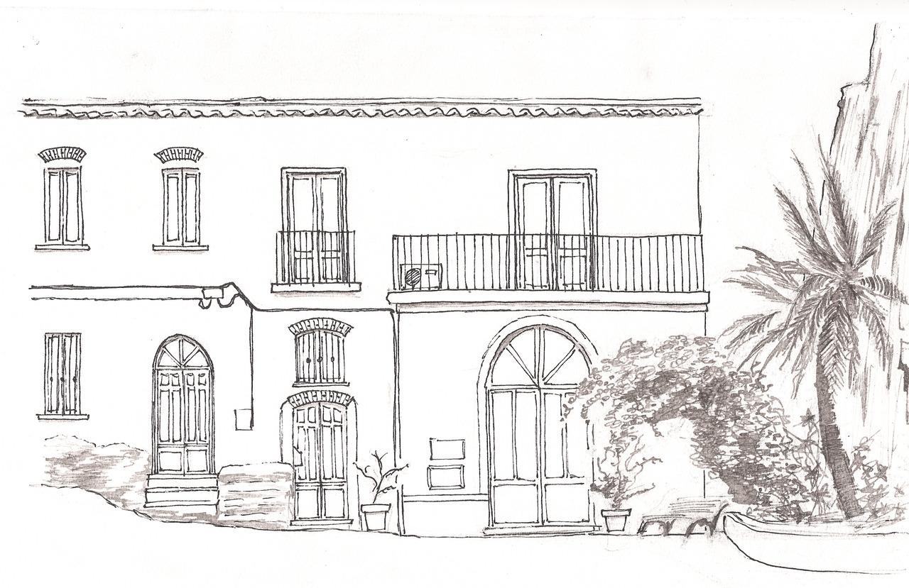 Illustrazione della facciata della libreria